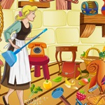 Princess Cinderella Clean Up