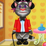 Talking Tom Dress up